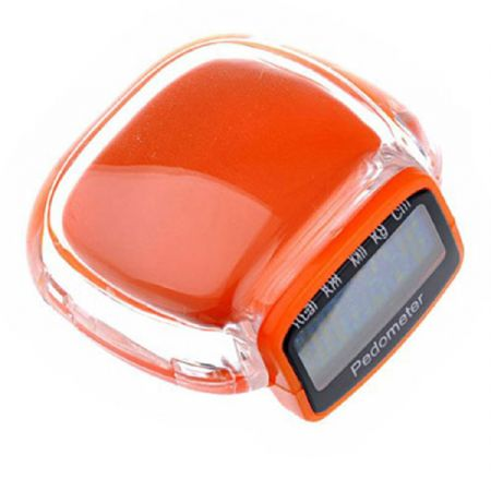 MULTIFUNCTION PEDOMETER - ORANGE